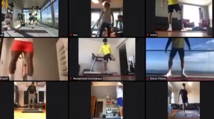 Fenerbahçe evden çalışmaya devam ediyor