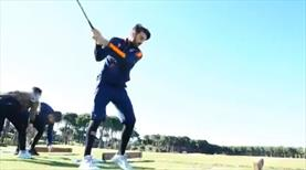 Başakşehirli futbolcular golf oynarsa