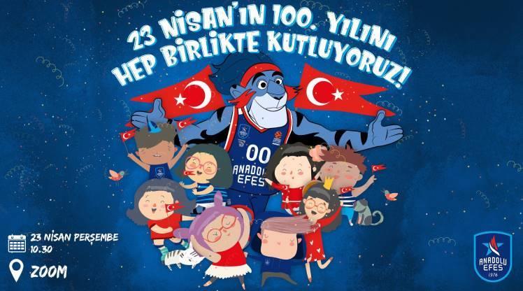 Anadolu Efes 23 Nisan'ı dijital ortamda kutlayacak