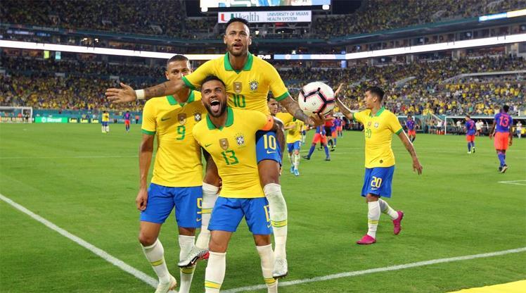 İhracat ligi şampiyonu Brezilya
