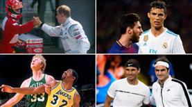 Spor dünyasında tarihe geçen rekabetler