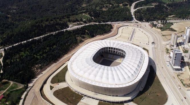 Yeni Adana Stadı'nın koltuk renkleri belli oldu