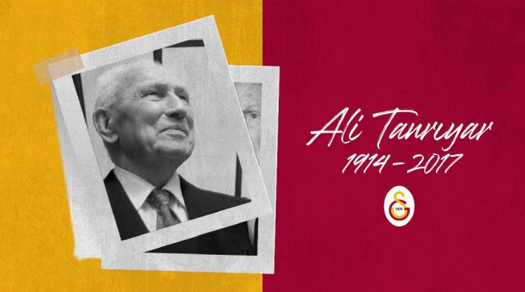 Galatasaray, Ali Tanrıyar'ı andı