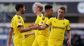 Sancho coştu, Dortmund takibi sürdürdü
