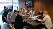 Trabzonspor'da online toplantı