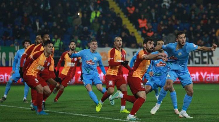 Çaykur Rize-Galatasaray 38. kez