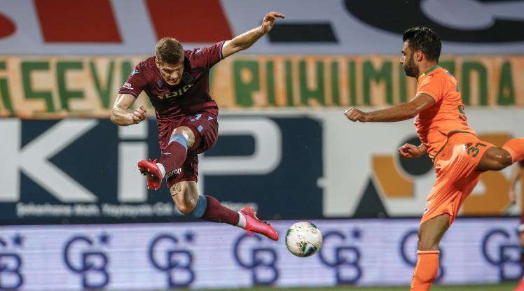 Alanyaspor - Trabzonspor maçının notları