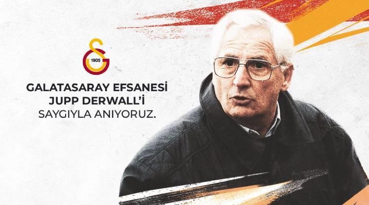 Galatasaray Derwall'i unutmadı