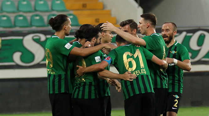 Akhisarspor - EH Balıkesirspor: 3-1 (ÖZET)