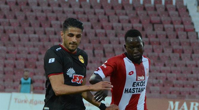 EH Balıkesirspor - Eskişehirspor: 2-0 (ÖZET)