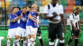 Sampdoria ikinci yarı açıldı (ÖZET)