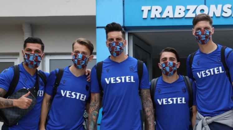 Trabzonspor İstanbul'a geldi