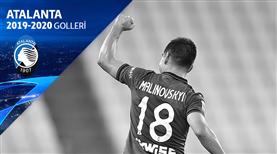 Atalanta'yı son 16'ya taşıyan goller