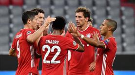 Bayern güle oynaya çeyrek finalde (ÖZET)
