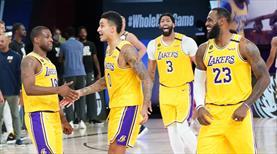 Lakers son saniye üçlüğü ile kazandı