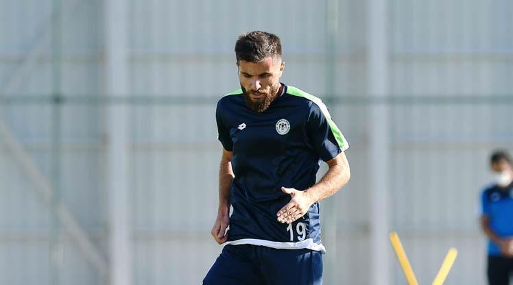 Konyaspor'dan şut antrenmanı
