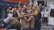 PSG'de maç sonrası büyük coşku