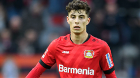 Kai Havertz Chelsea yolunda