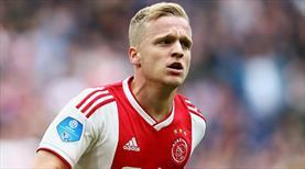 Manchester United, Van de Beek'i transfer ediyor