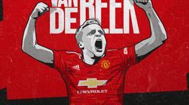 Van de Beek resmen Manchester United'da