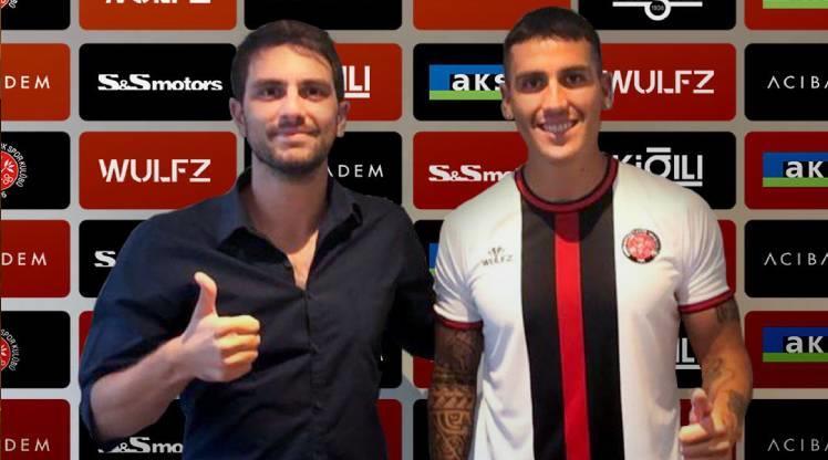 Fatih Karagümrük, Enzo Roco'yu transfer etti