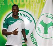 Giresunspor'a Senegalli golcü