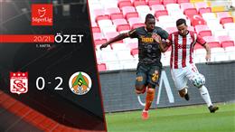 ÖZET | DG Sivasspor 0-2 Alanyaspor