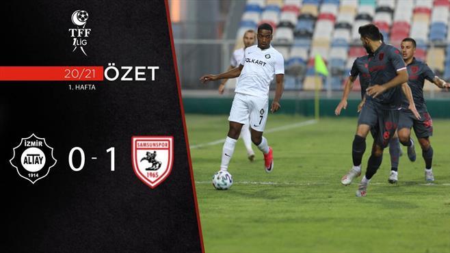 ÖZET | Altay 0-0 Yılport Samsunspor