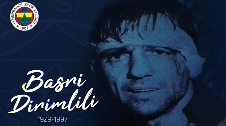 Fenerbahçe, Basri Dirimlili'yi andı