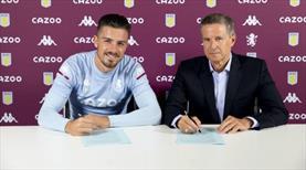 Aston Villa, Grealish ile 5 yıllık sözleşme imzaladı