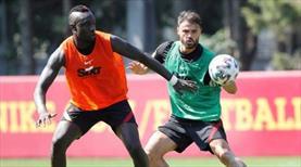 Galatasaray'da Neftçi maçı hazırlıkları