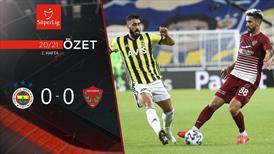 ÖZET | Fenerbahçe 0-0 A.Hatayspor