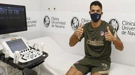 Luis Suarez resmen Atletico Madrid'de