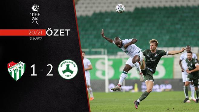 ÖZET | Bursaspor 1-2 Giresunspor