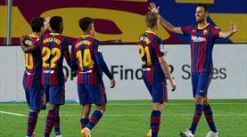 Barça'dan dört dörtlük galibiyet