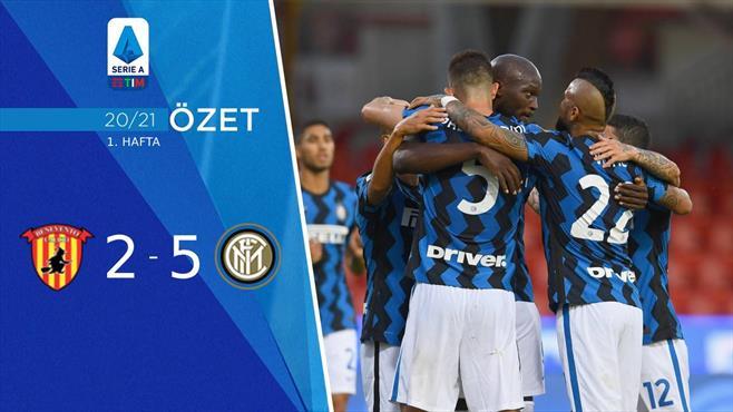 ÖZET | Benevento 2-5 Inter