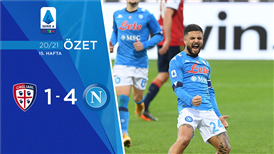 ÖZET | Cagliari 1-4 Napoli