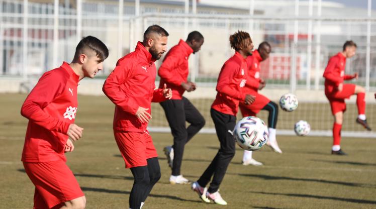Sivasspor'da Y. Malatyaspor hazırlıkları