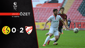 ÖZET   Eskişehirspor 0-2 Beypiliç Boluspor