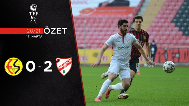 ÖZET | Eskişehirspor 0-2 Beypiliç Boluspor