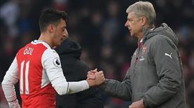 Wenger: Mesut Özil'e hayranım