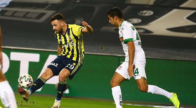 Fenerbahçe - A. Alanyaspor maçının notları