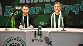 Konyaspor, Zymer Bytyqi'yi transfer etti