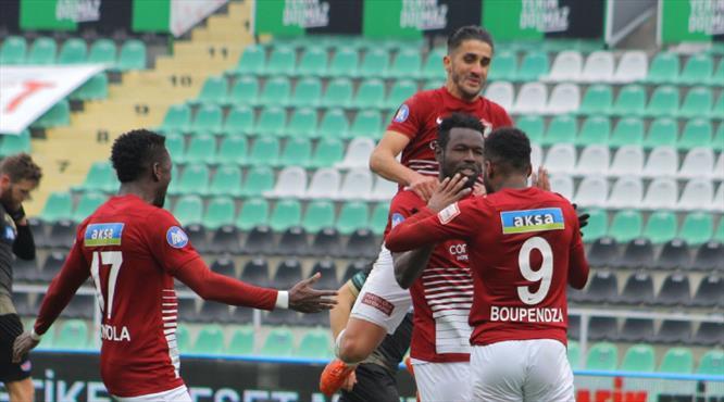 Diouf penaltıda hata yapmadı