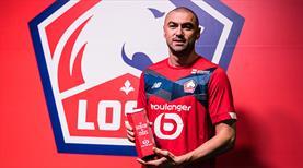 Lille'de ayın futbolcusu Burak Yılmaz