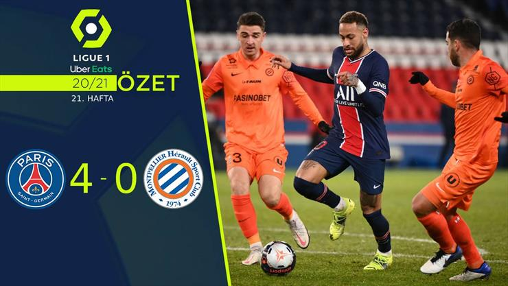 ÖZET | PSG 4-0 Montpellier