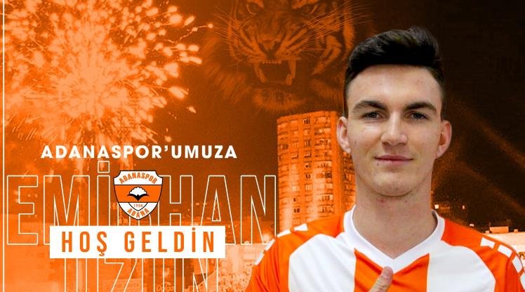 Adanaspor, Emirhan Uzun'u transfer etti