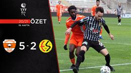 ÖZET | Adanaspor 5-2 Eskişehirspor
