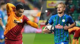 Çaykur Rizespor - Galatasaray maçının golleri burada
