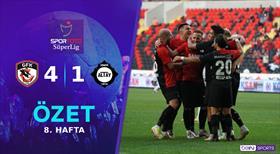 ÖZET   Gaziantep FK 4-1 Altay